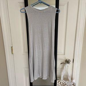 Sleeveless Swing Dress